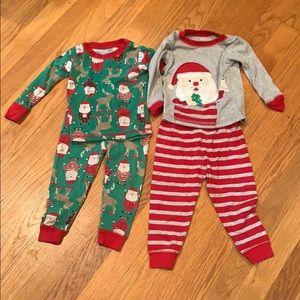 2 Sets of Santa 🎅 Pajamas